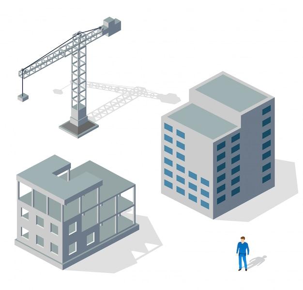 Crane industrial structure