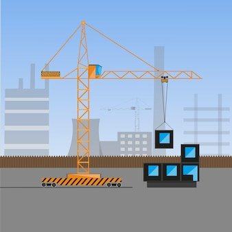 Crane load block illustration