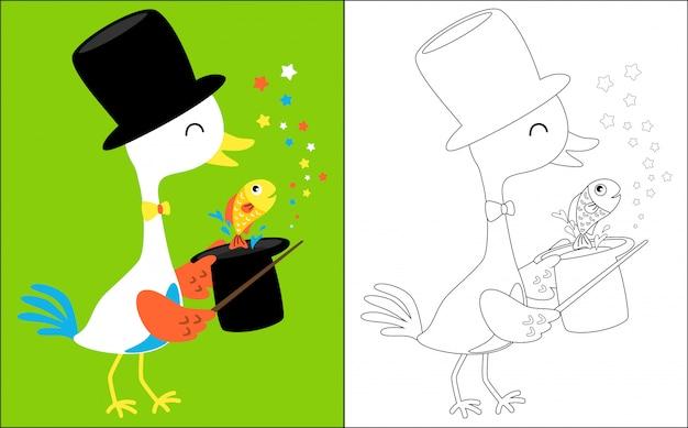 Crane the magician