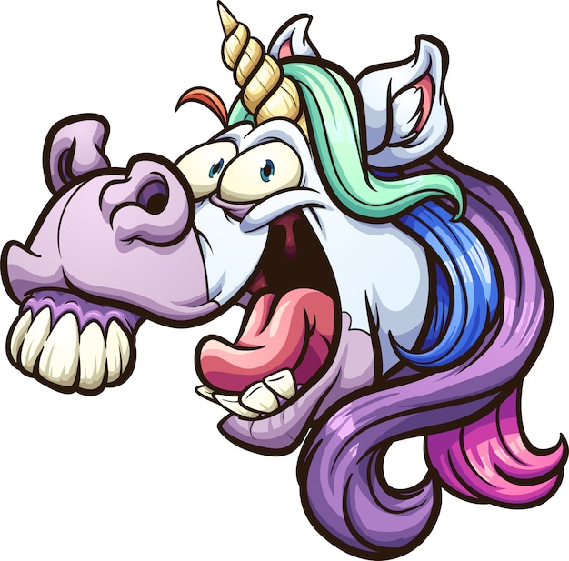 Crazy unicorn