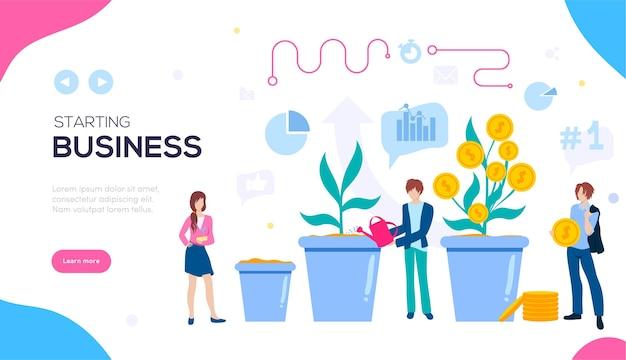 Создайте бизнес-баннер. идеи для открытия бизнеса.