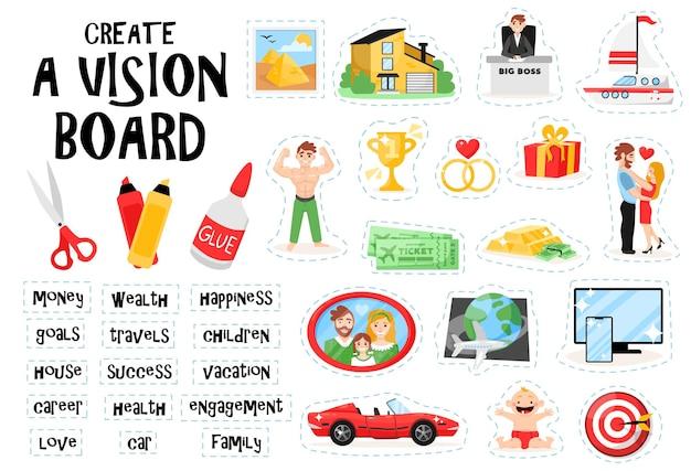 Create a vision board set