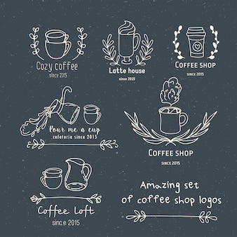 Create your own coffee shop logo