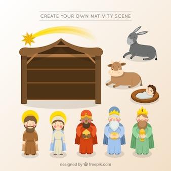Create your own nativity scene
