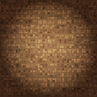 Created vintage style of brown mosaic texture