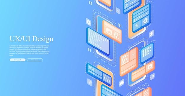 Creates a custom design for a mobile application ui ux design development of applications design