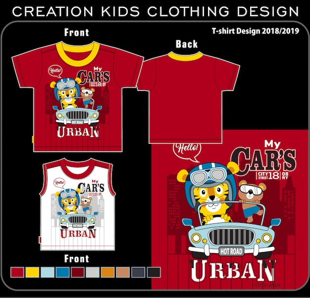 Creation kids clothing