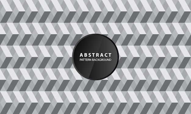 Creative 3d geometric pattern background