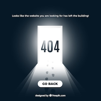 Creative 404 error background