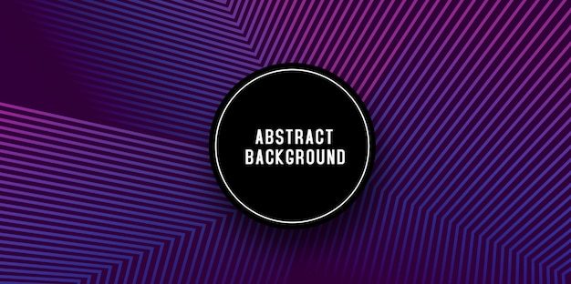 Creative abstract banner background