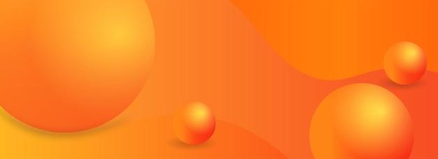 クリエイティブな抽象的なバナーwebテンプレートwebまたは印刷デザインですぐに使用できるバナー
