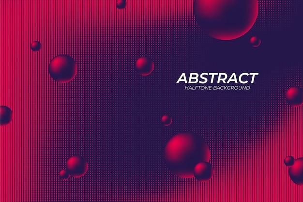 Creative abstract halftone background