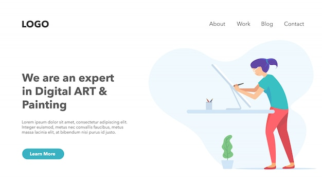 Creative agency startup business portfolio