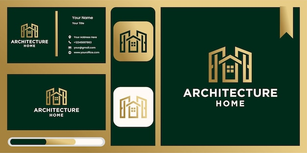 Creative architecture home logo ,real estate logo, creative home logo collection, home logo set. vector illustrator with fancy colors
