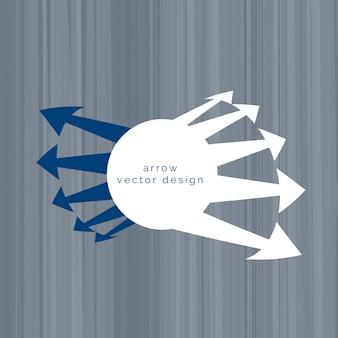 Creative arrow design