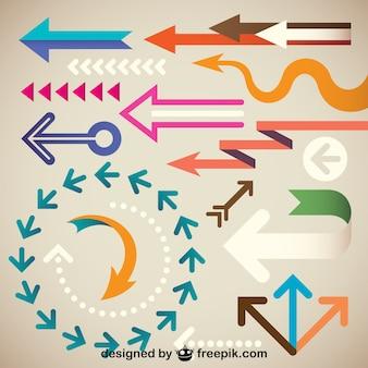 Creative arrows collection