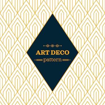 Creative art deco pattern