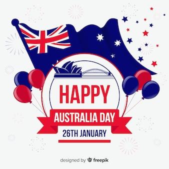 Creative australia day background