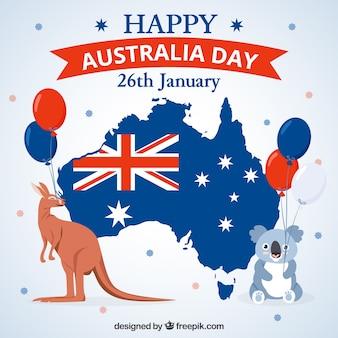 Creative australia day design