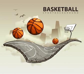 Creative basketball design