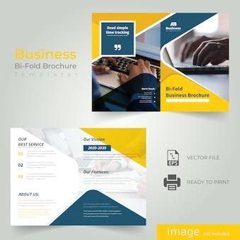 Creative Bi Fold Brochure Design