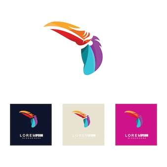 創造的な鳥のデザインコンセプト
