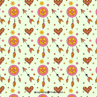 Creative boho pattern