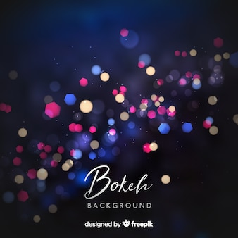 Creative bokeh background concept