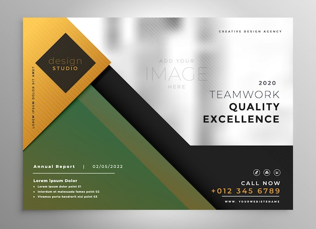 Creative brochure presentation template