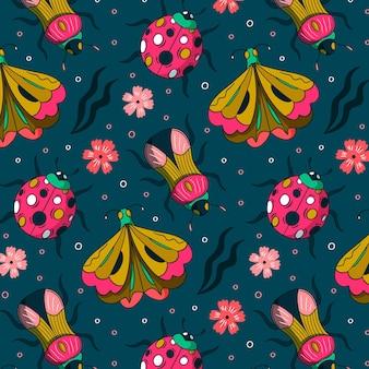 Creative bug pattern design