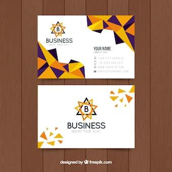 クリエイティブビジネス抽象カード
