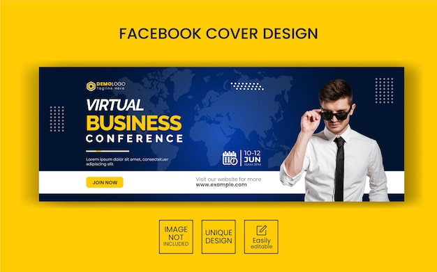 Creative business agency instagram post template