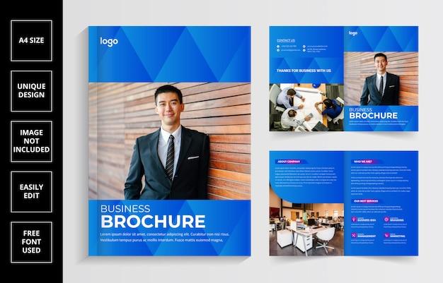 Creative business brochure template design