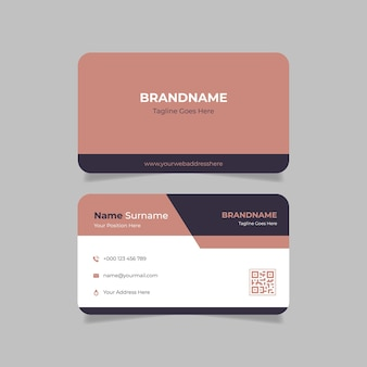 Creative business card for beauty