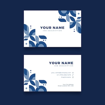 Creative and business card template
