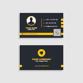 Креативная визитная карточка
