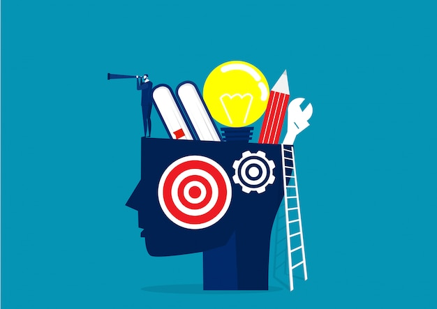 Creative business concept illustration