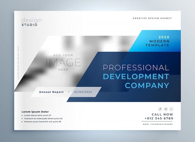 Дизайн страницы рекламного проспекта