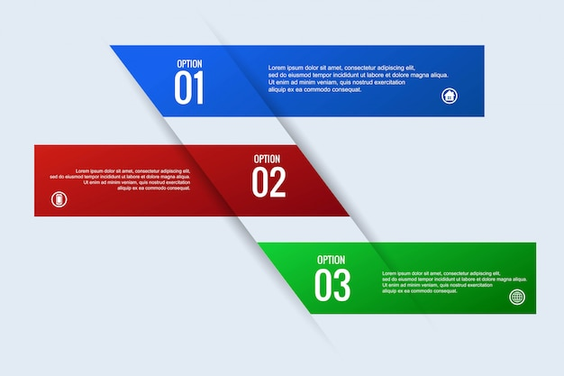 Creative business infographic concept web banner design