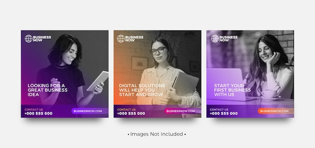 クリエイティブなビジネスinstagramの投稿テンプレート