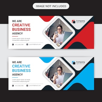 Креативный бизнес маркетинг шаблон веб-баннера