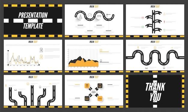 Творческий шаблон оформления бизнес-презентаций.