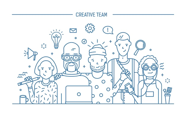 Концепция творческой бизнес-команды
