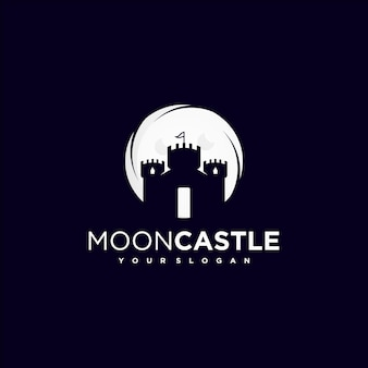 Creative castle, fortress logo inspiration premium vector