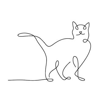 Креативный дизайн животных кошек
