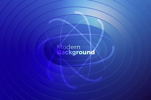 Creative circle shapes background design