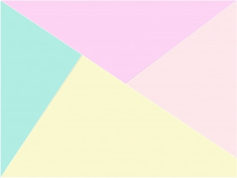 Creative colorful pastel paper background