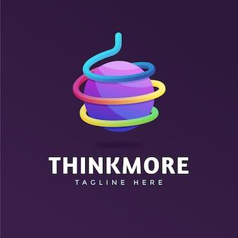 Шаблон логотипа креативной компании