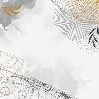Креативная концепция флаера с годичными кольцами деревьев