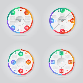Creative concept for infographic vector business template